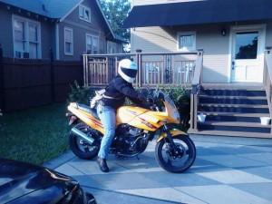 Liz motocycle