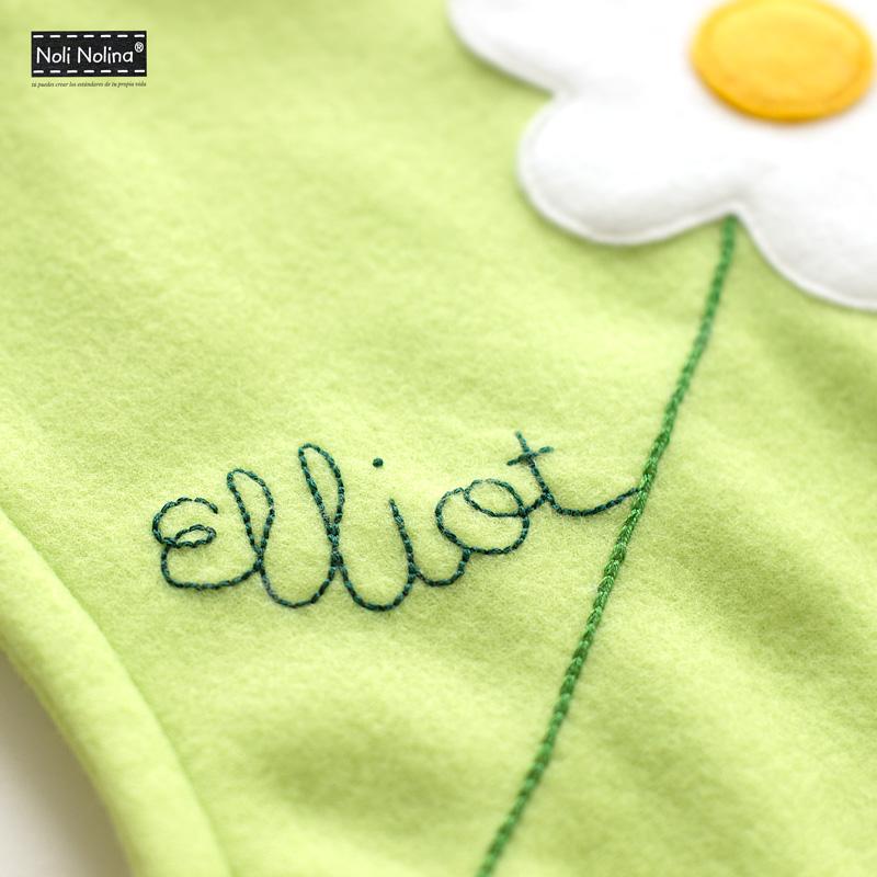 nombre bordado Elliot