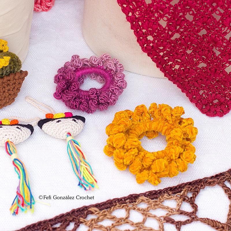 coleteros realizados por Fefi González Crochet