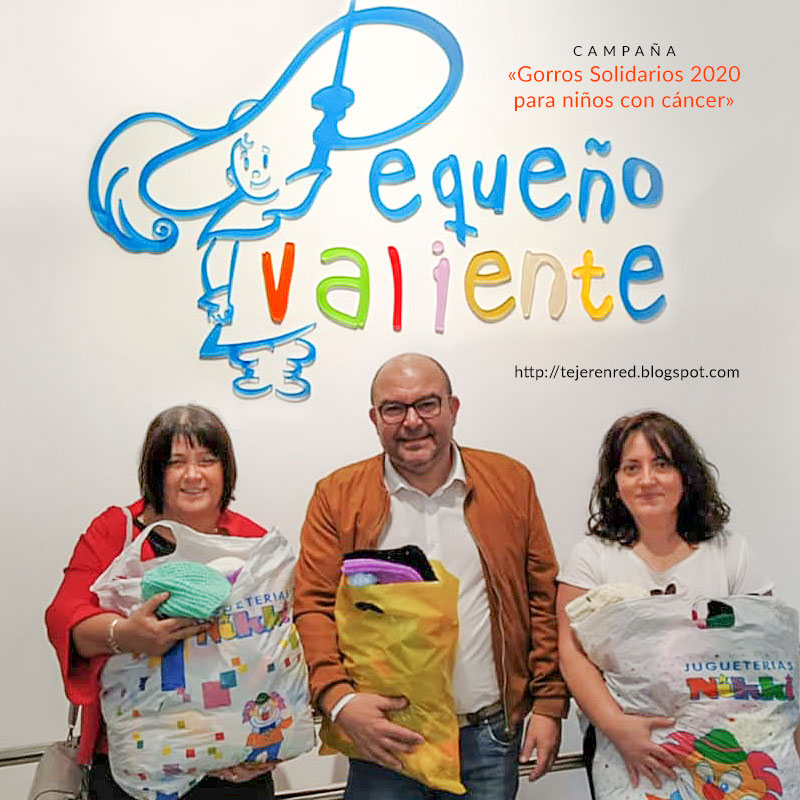 Campaña Solidaria 2020 Pequeño Valiente - Tejer en Red