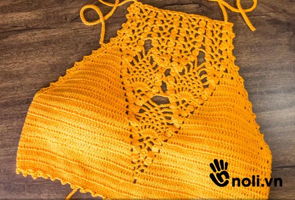 [Video] Thật đơn giản để học móc croptop bằng len sợi (phần 2)
