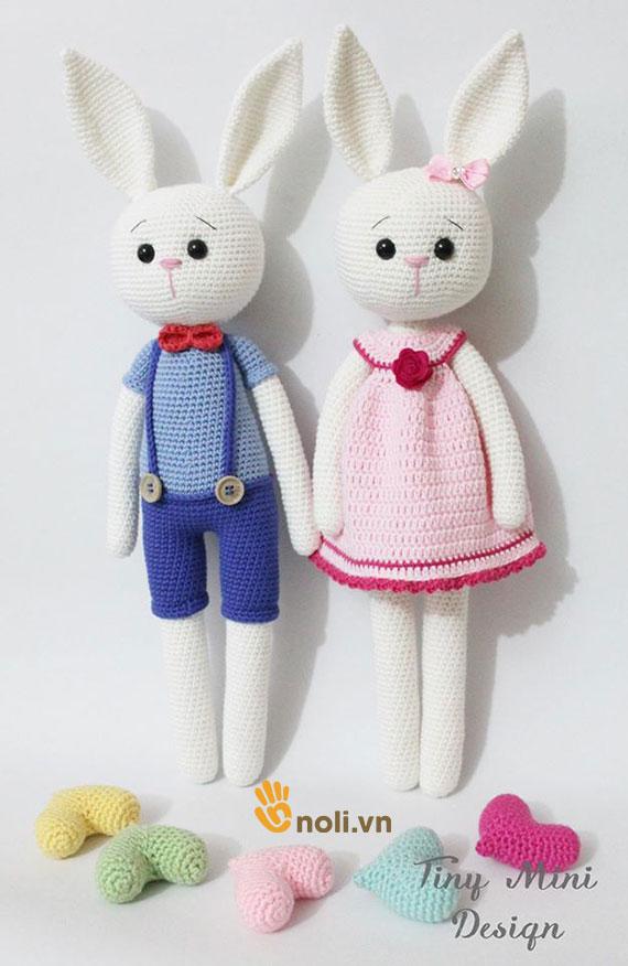 Bộ sưu tập búp bê amigurumi len móc của nhà thiết kế Tiny Mini Design (Phần 2)