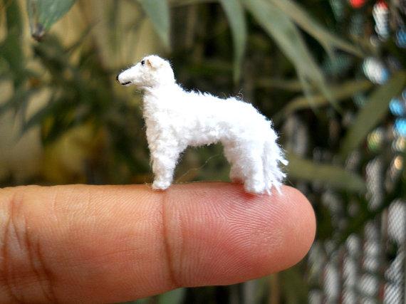 bộ sưu tập những chú cún amigurumi siêu nhỏ xinh