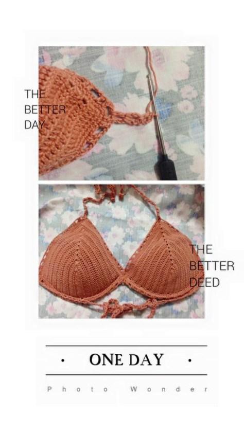 Hướng dẫn làm bikini móc len cho mùa hè thêm rực rỡ
