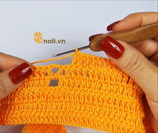 [Video] Thật đơn giản để học móc áo croptop bằng len sợi (phần 1)