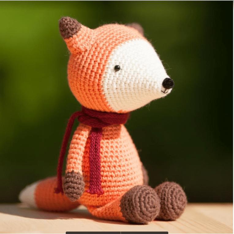 Hướng đẫn móc cáo đỏ cam Rufus cực nổi bật và bắt mắt
