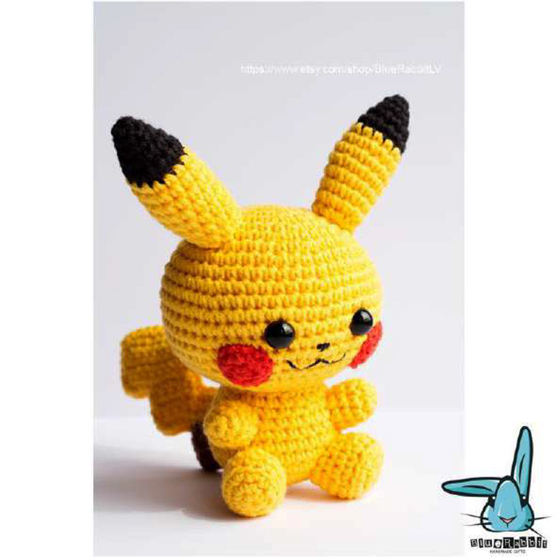 Móc-mẫu-Pikachu-xinh-xắn-của-tác-giả-Blue-Rabbit