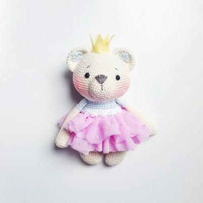 Chart gấu công chúa Holly đội vương miện xinh xắn