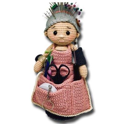 Hướng dẫn móc búp bê Hook Omi vô cùng hữu ích cho chị em đan móc
