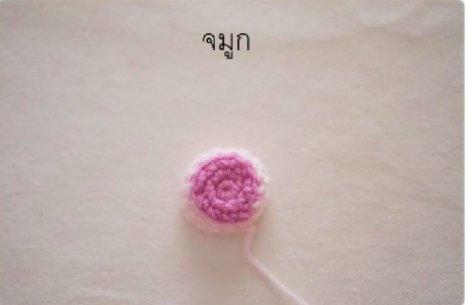 Hướng dẫn móc heo hồng Piglet của tác giả Orange Amigurumi