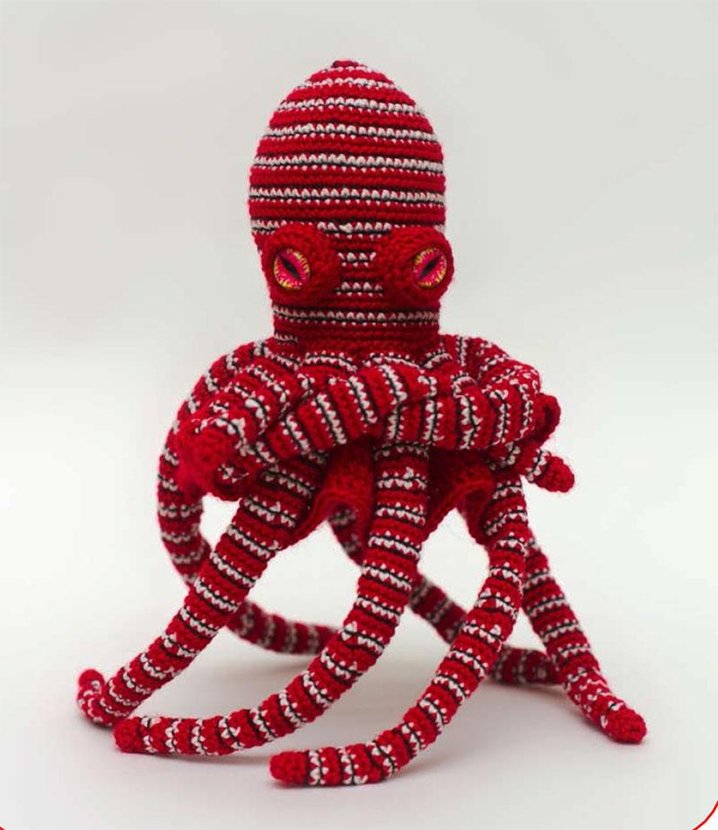 hướng dẫn móc mẫu con bạch tuộc màu sắc độc đáo