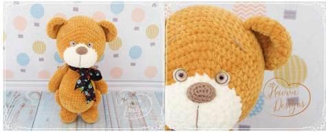 Hướng dẫn móc gấu nhung Teddy dễ thương