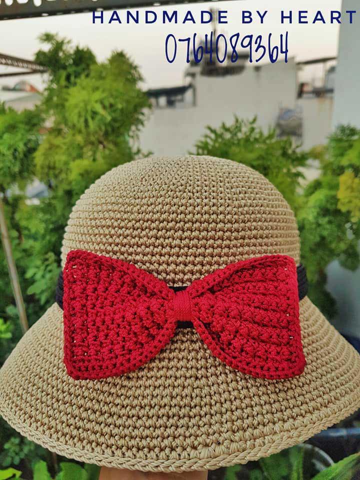 Hướng dẫn móc vành và tip hay ho để có vành mũ đẹp