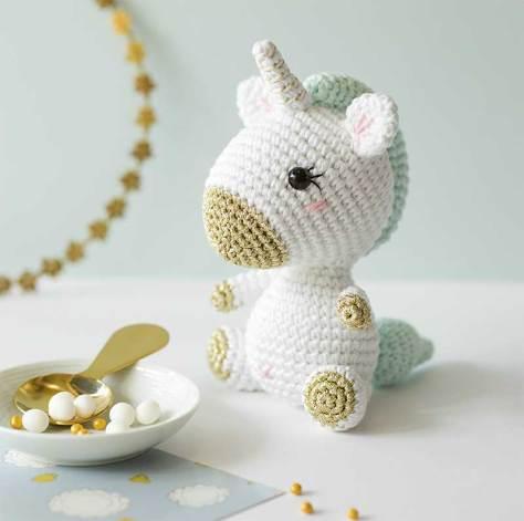 Hướng dẫn móc mẫu kỳ lân mini