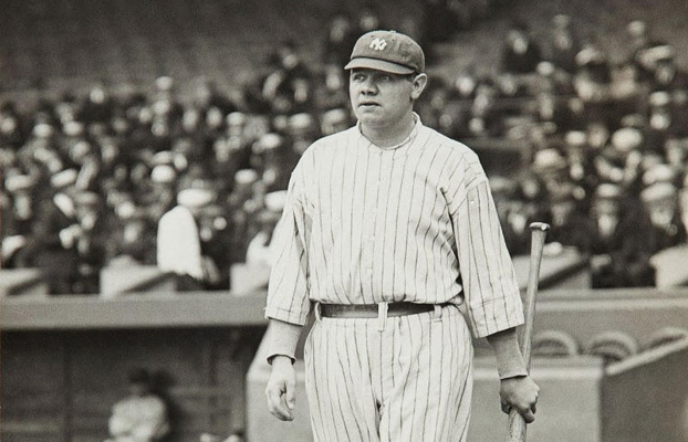 Babe Ruth may forever be the best to ever step on a field, even if it was many, many years ago.