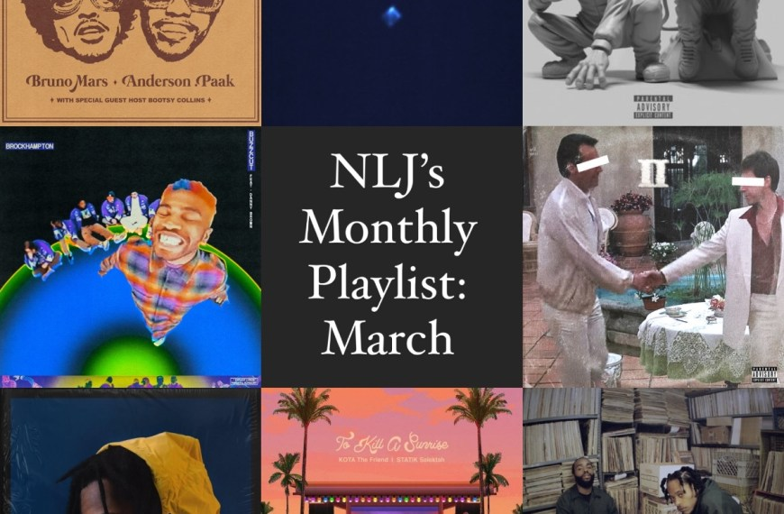 NLJ's Monthly Playlist: March