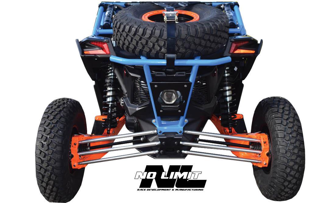 canam maverick x3 spare tire carrier