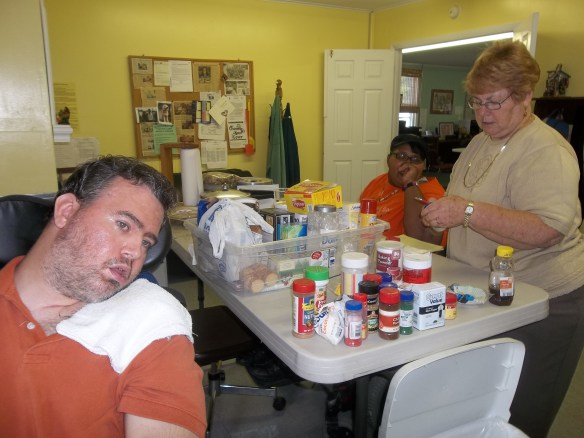 Thank Maureen, Amy and Jason for organizing our pantry!!