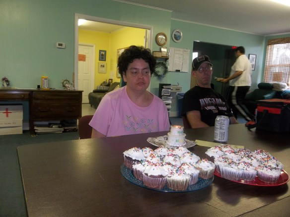 Happy Birthday, Beth!!   Hope you had a great day and enjoyed your cupcakes because i know we did!!  :)