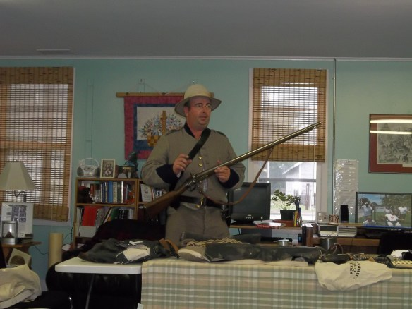 Thanks you, Bill Savage so much for coming to speak with us last week!   We learned so much about the Civil War!