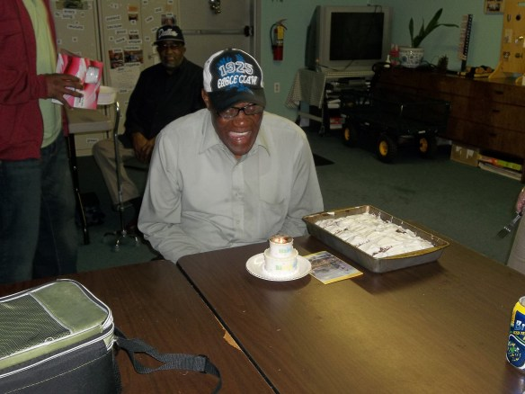 "Happy Birthday, Isaiah!!  We had great time celebrated his birthday!  Matt say, ""Bring on the cake!!"""