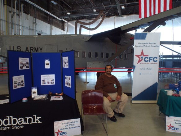 Zel at Wallops for the NASA Wallops Flight Facility' Ws CFC FunFest to benefit United Way charities.