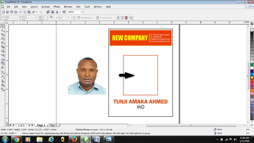 Student Id Card Template Cdr   Cardfssn org