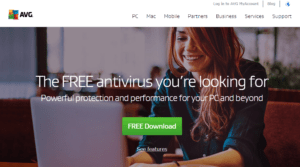 Avg 300x167 - Best Free Antivirus Programs for Windows 10/7/8