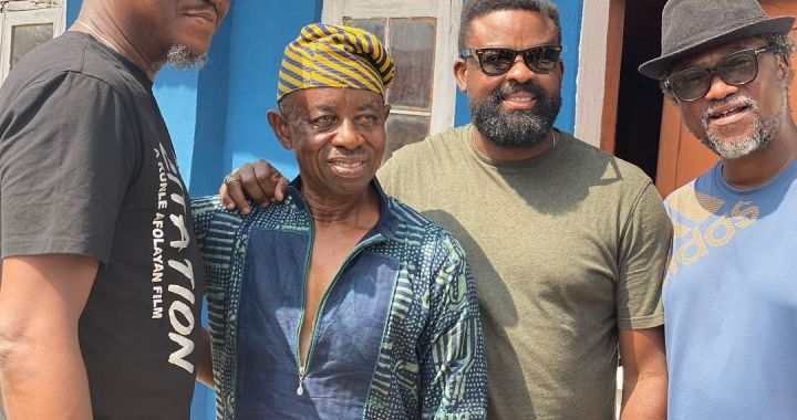 Àyìnlá; The Movie About Ayinla Omowura Kicks Off Production in 2020