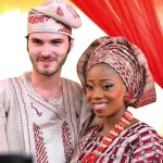 Tosyn Bucknor's oyibo husband can't stop gushing about her