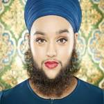 Youngest Bearded Woman Breaks Guiness Book of World Records