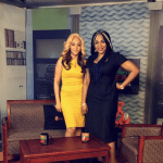 Nollywood actress and Oasis star Rosaline Meurer storms Abuja for advert and media tour (photos)