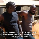 Hollywood stars commend Nigerian film-maker Jeta Amata on 'Black November'