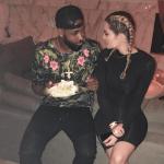 Khloe Kardashian sends her boyfriend, Tristan Thompson a sweet birthday message
