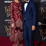 Chrissy Teigen, John Legend and Celine Dion stunning at the premiere of Beauty and the Beast