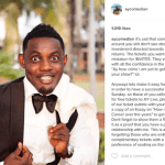 Lol. AY Comedian isn't here for people who are begging for free tickets to his show