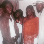 Check out this epic Throwback photo of Annie Idibia, 2face and his brother Hyacinth