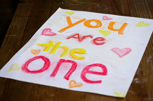 You are the one.