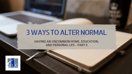 3 Ways to Alter Normal