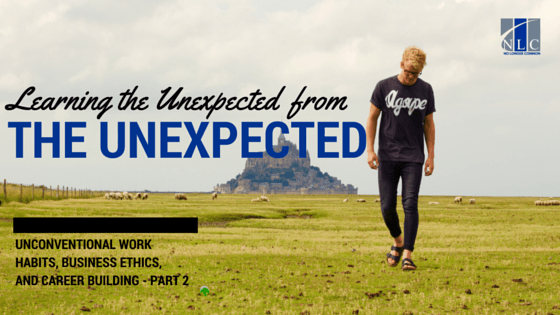 The Unexpected From the Unexpected - blog