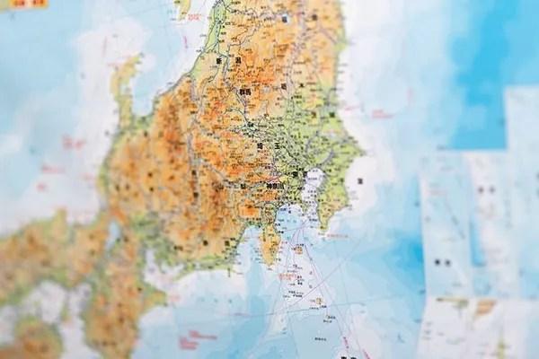 通信エリア地図