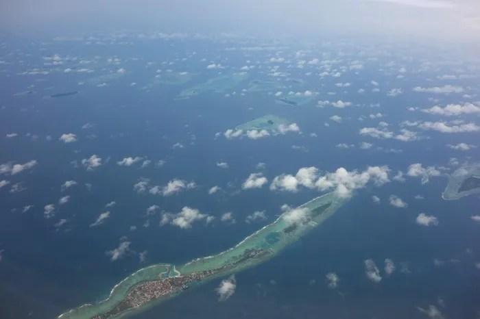インドネシア 上空