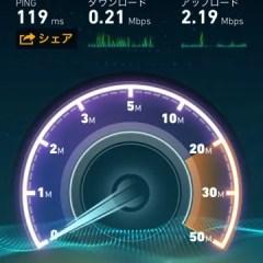ランチタイムの平日12時台はDMM mobileの速度が0.5Mbps以下になる