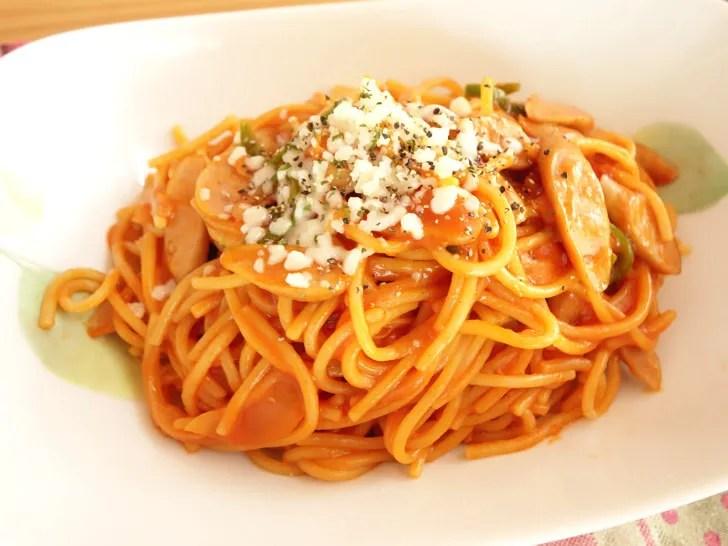コストコのガロファロオーガニックスパゲッティで作った料理
