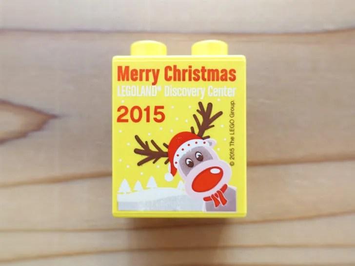 レゴランドでもらったクリスマスのレゴ