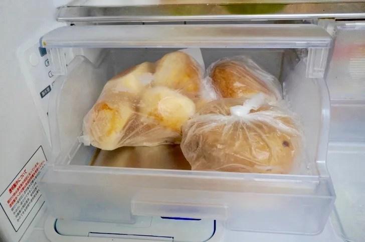 コストコのバラエティベーグル(冷凍保存の方法)
