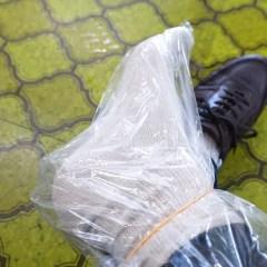 雪道を歩く時に足が濡れないコツとは?鳥取県大山寺エリアの松田家さんに教えてもらいました