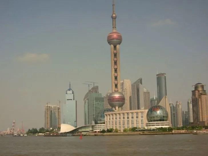 上海の東方明珠塔