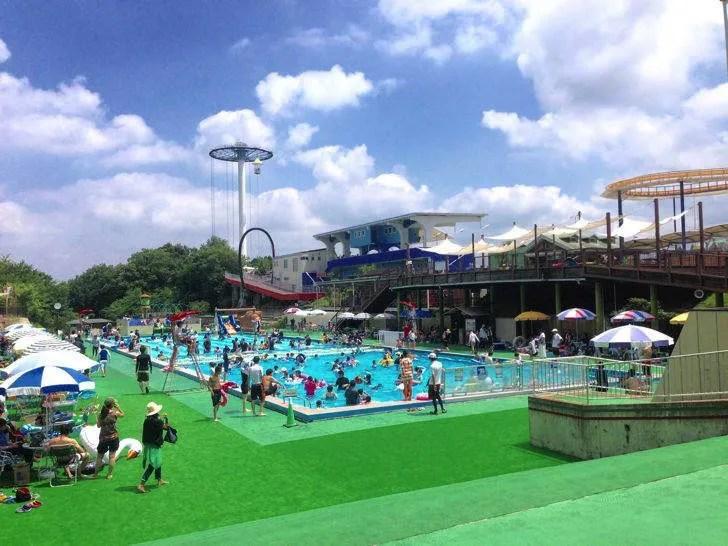 関西サイクルスポーツセンターのプール