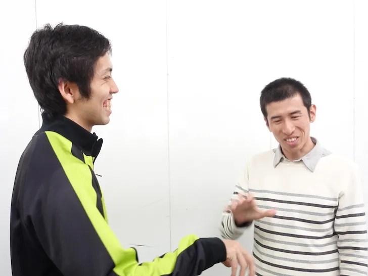 粕尾さんのすごさを語る松本